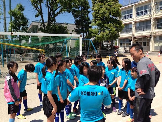 FC KAISHIN練習